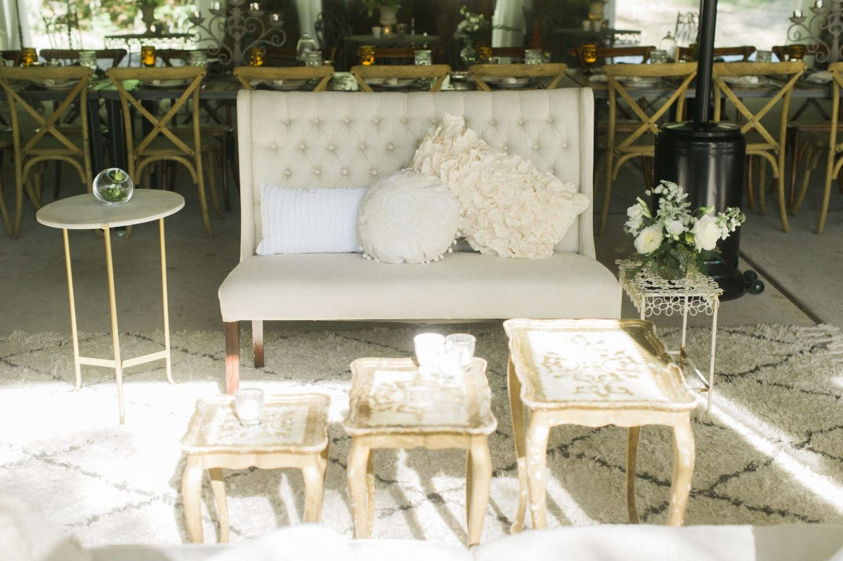 Shop Upstate NY Wedding Stephanie Karvellas Cocktail Hours Couch