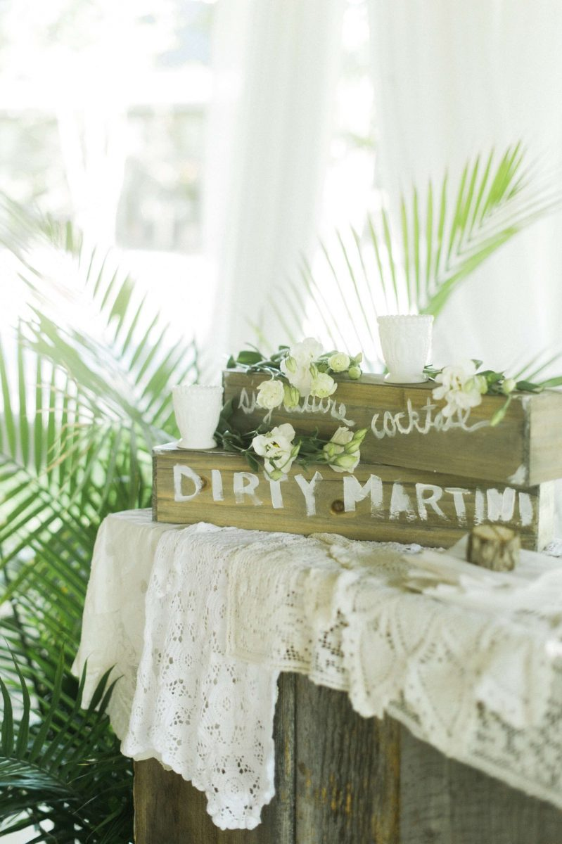 Shop Upstate NY Wedding Stephanie Karvellas Cocktail Hours Dirty Martini