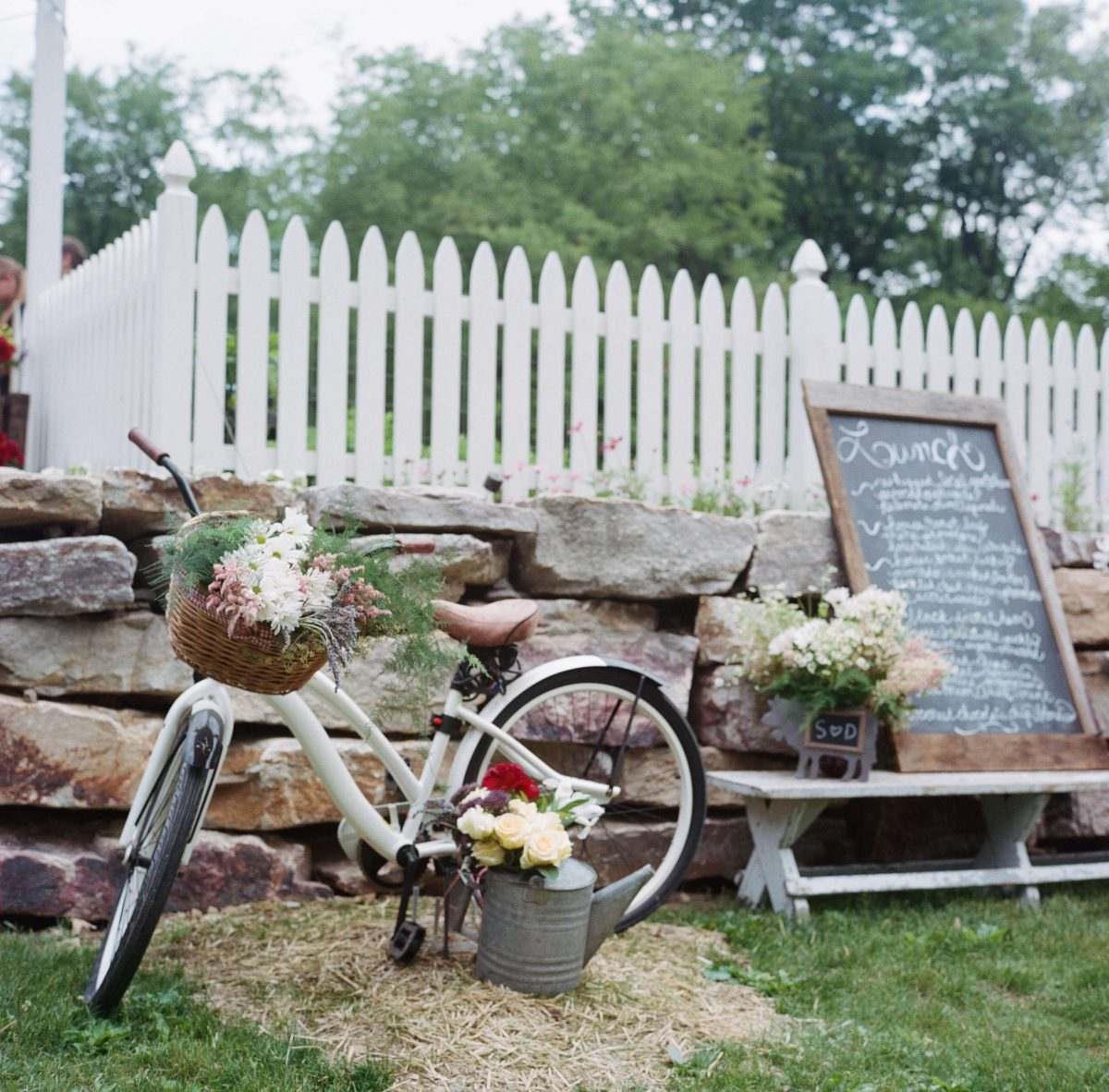 Shop Upstate NY Wedding Stephanie Karvellas Picnic Bike
