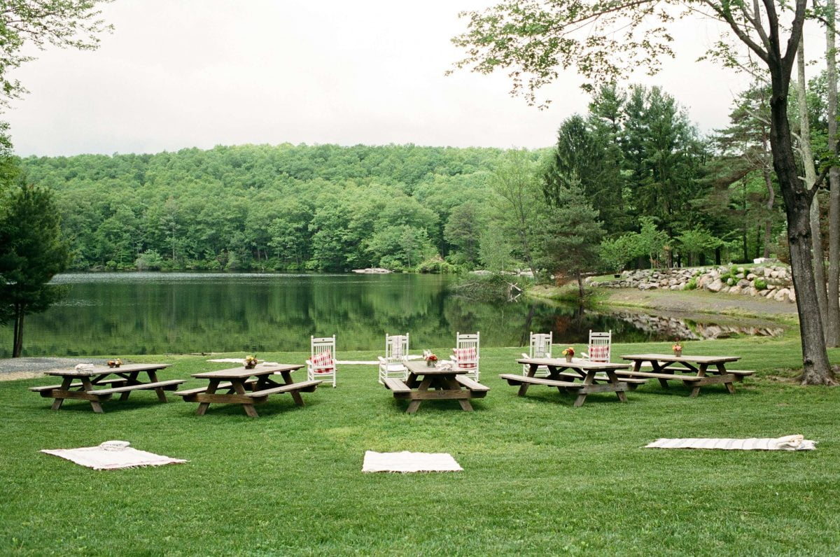 Shop Upstate NY Wedding Stephanie Karvellas Picnic
