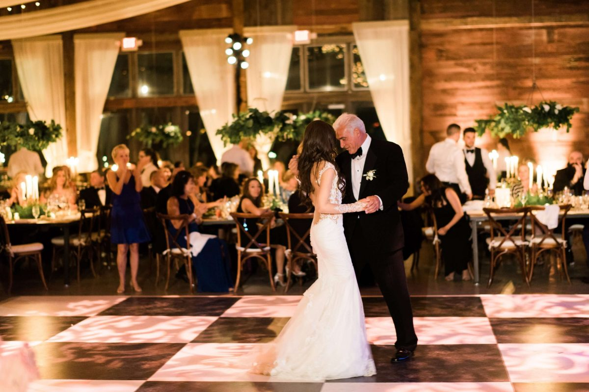 Shop Upstate NY Wedding Stephanie Karvellas Reception First Dance