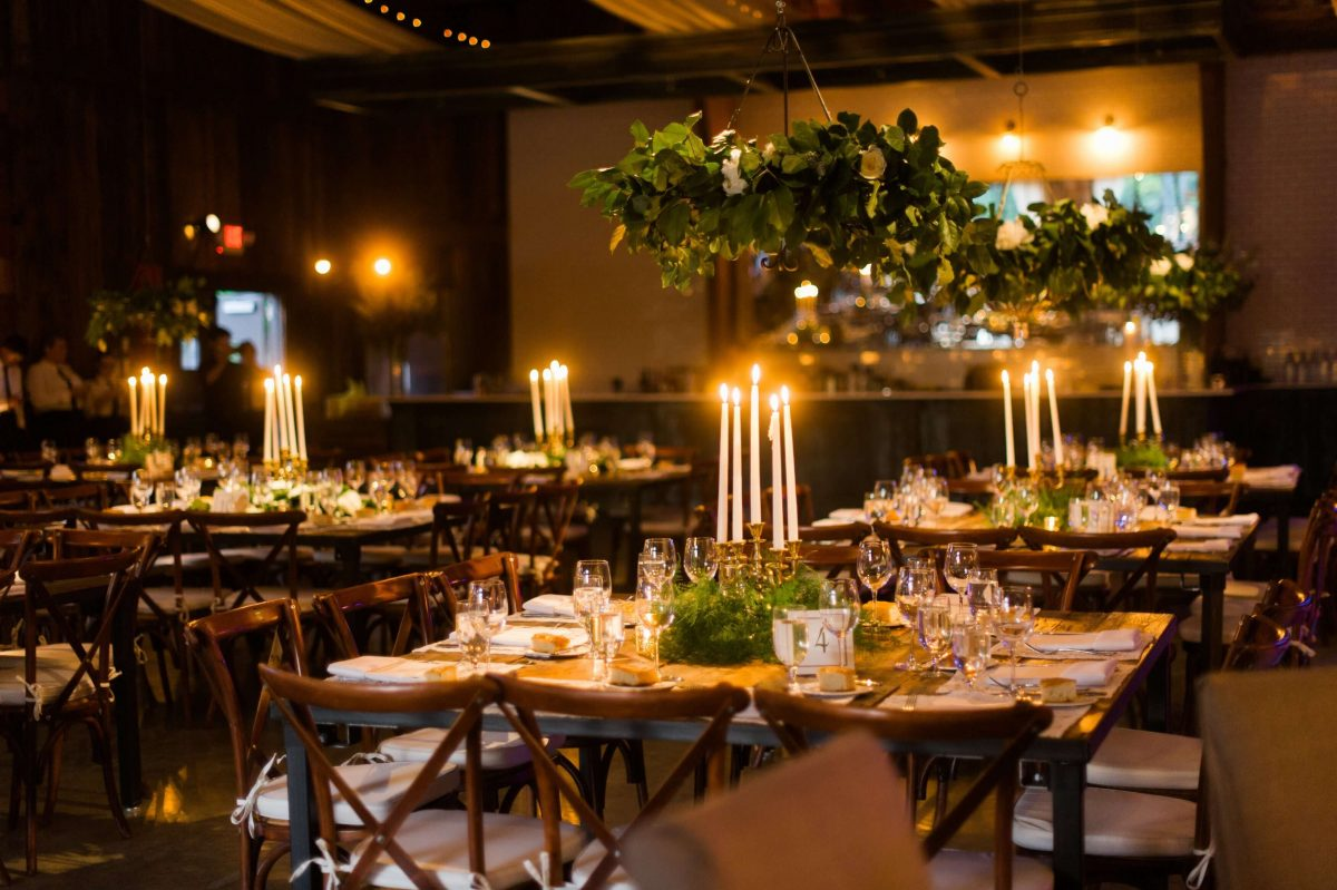 Shop Upstate NY Wedding Stephanie Karvellas Reception Tables