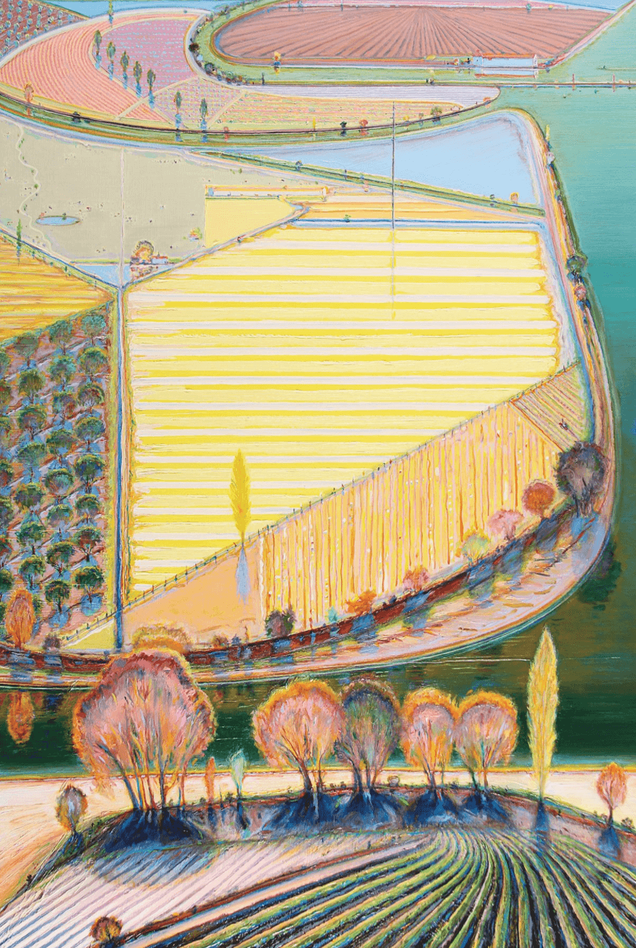 Culture Music Art Exhibitions in NY Wayne Thiebaud Acquarella Galleries