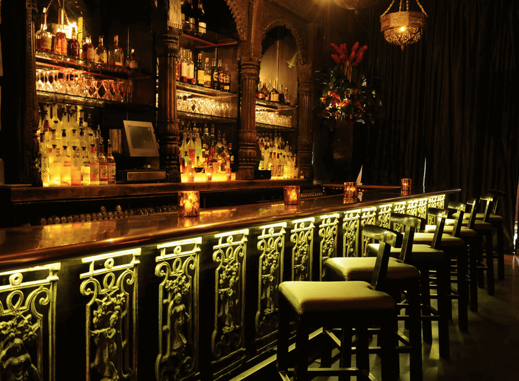 Curiosities Our Bucket Lists 7 Best NYC Social Dance Venues Taj Bar Area