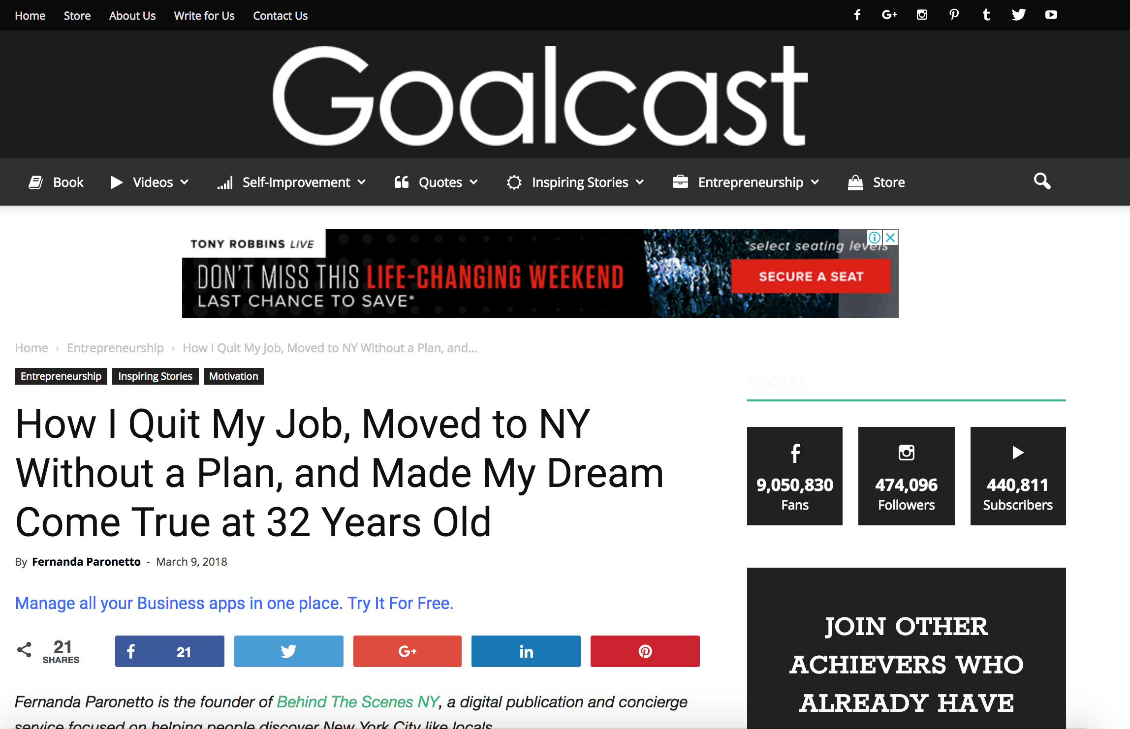 About BTSNYC What The Press Says Goal Cast