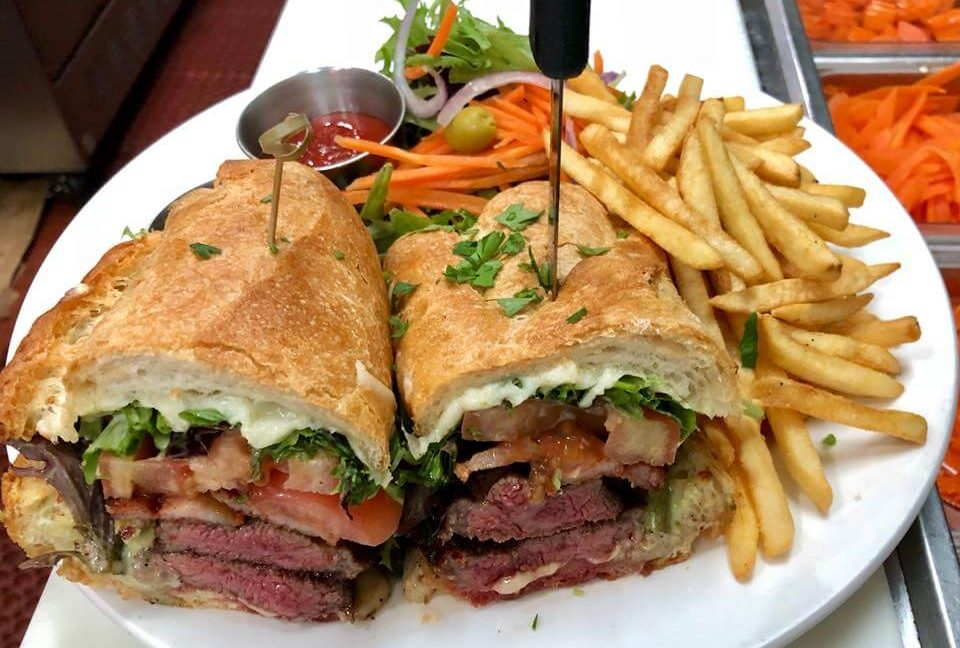 Dining 36 Brazilian Restaurants In New York Rice N Beans Picanha Sandwich