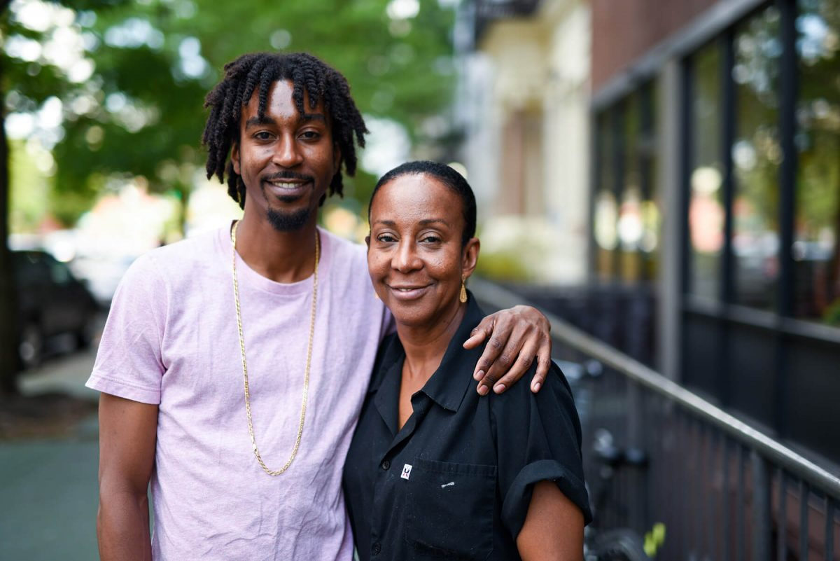 Dining Seasoned Vegan Harlem Brenda and Aaron Beener