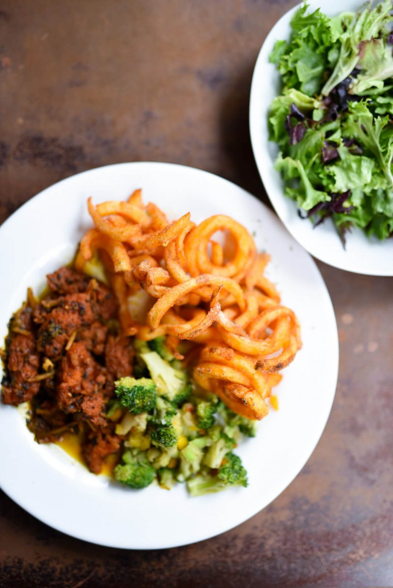 Dining Seasoned Vegan Harlem Dishes