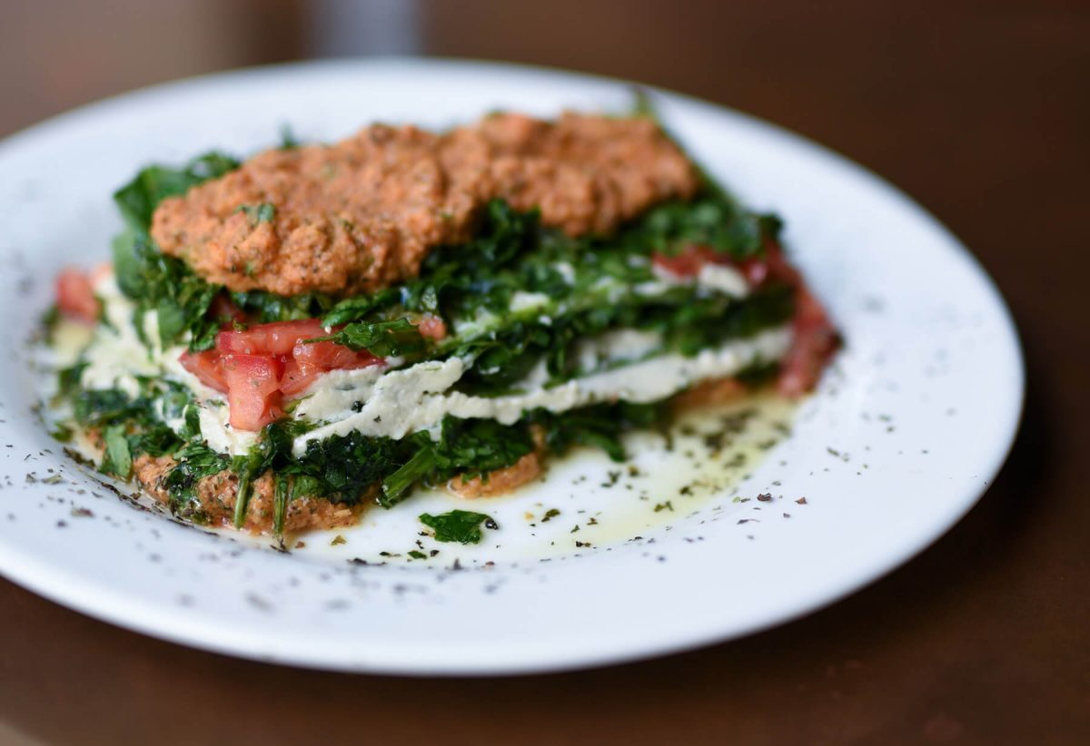 Dining Seasoned Vegan Harlem Raw Lasagna