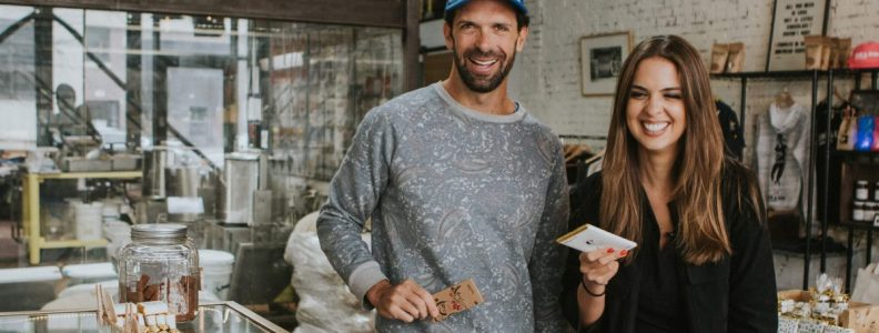 Shop Specialties Fine and Raw Chocolate Fernanda Paronetto with Daniel Sklaar
