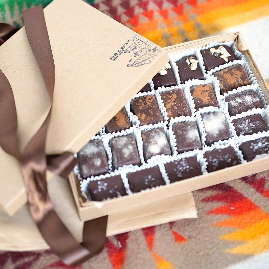 Shop Specialties Fine and Raw Chocolate Gift Box