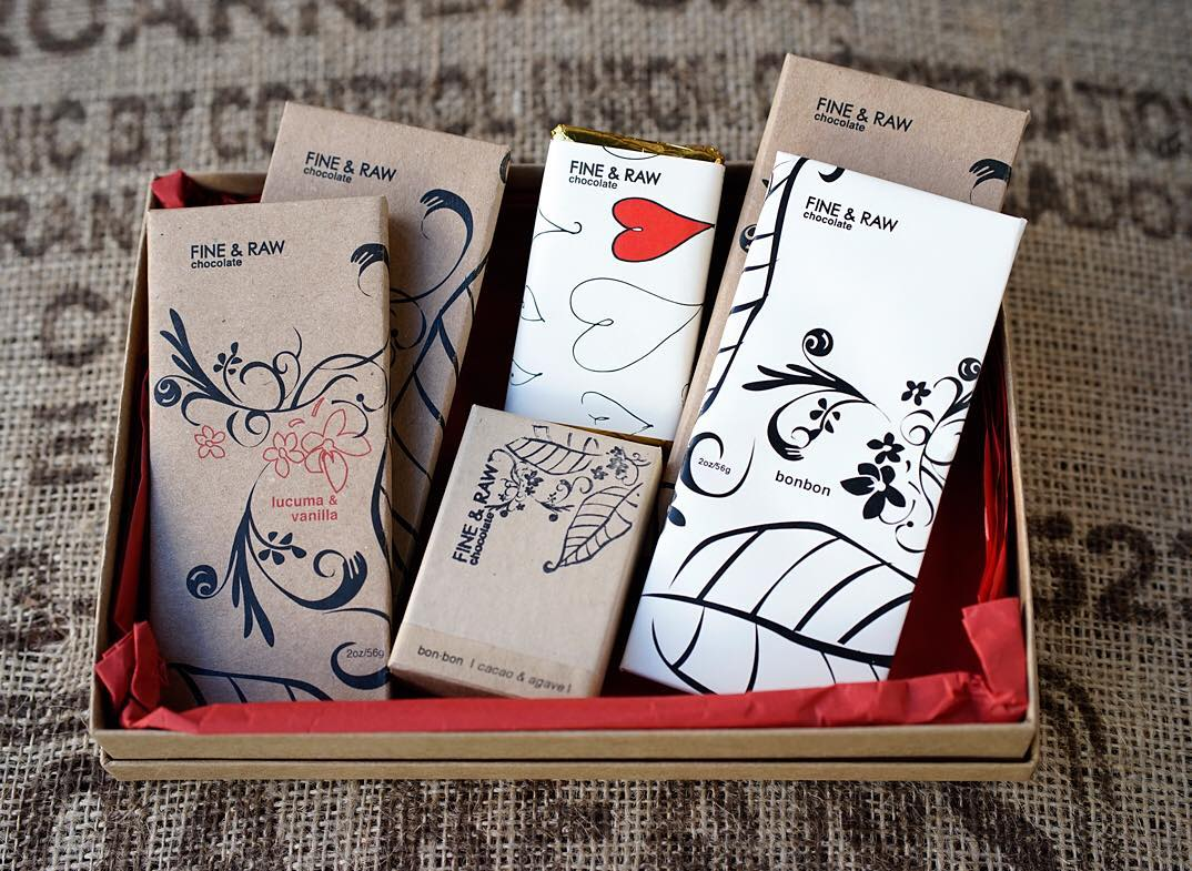 Shop Specialties Fine and Raw Chocolate Varied Gift Box