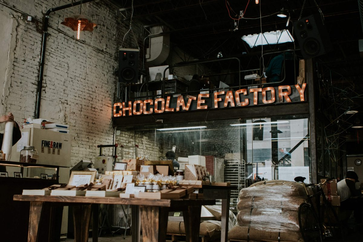 Shop Specialties Fine and Raw Chocolate