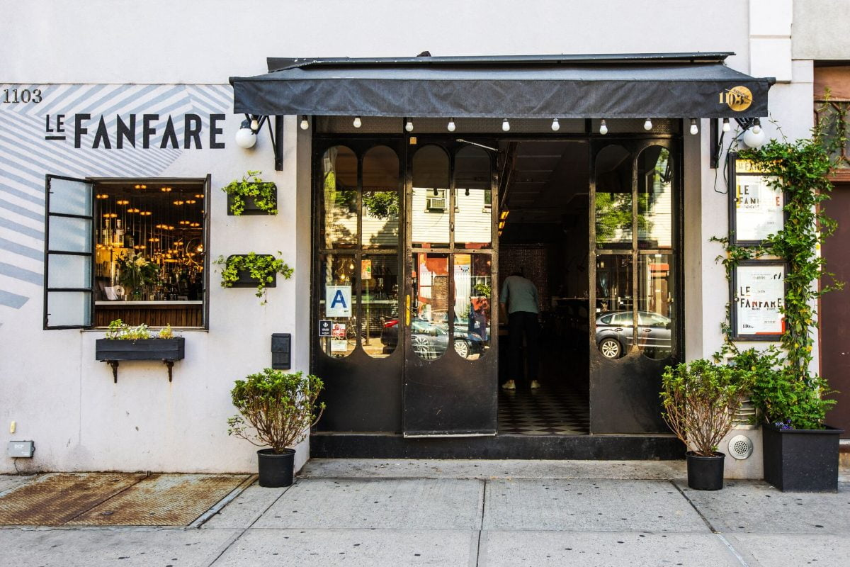 Dining Top Food Spots in Greenpoint Restaurants Le Fanfare