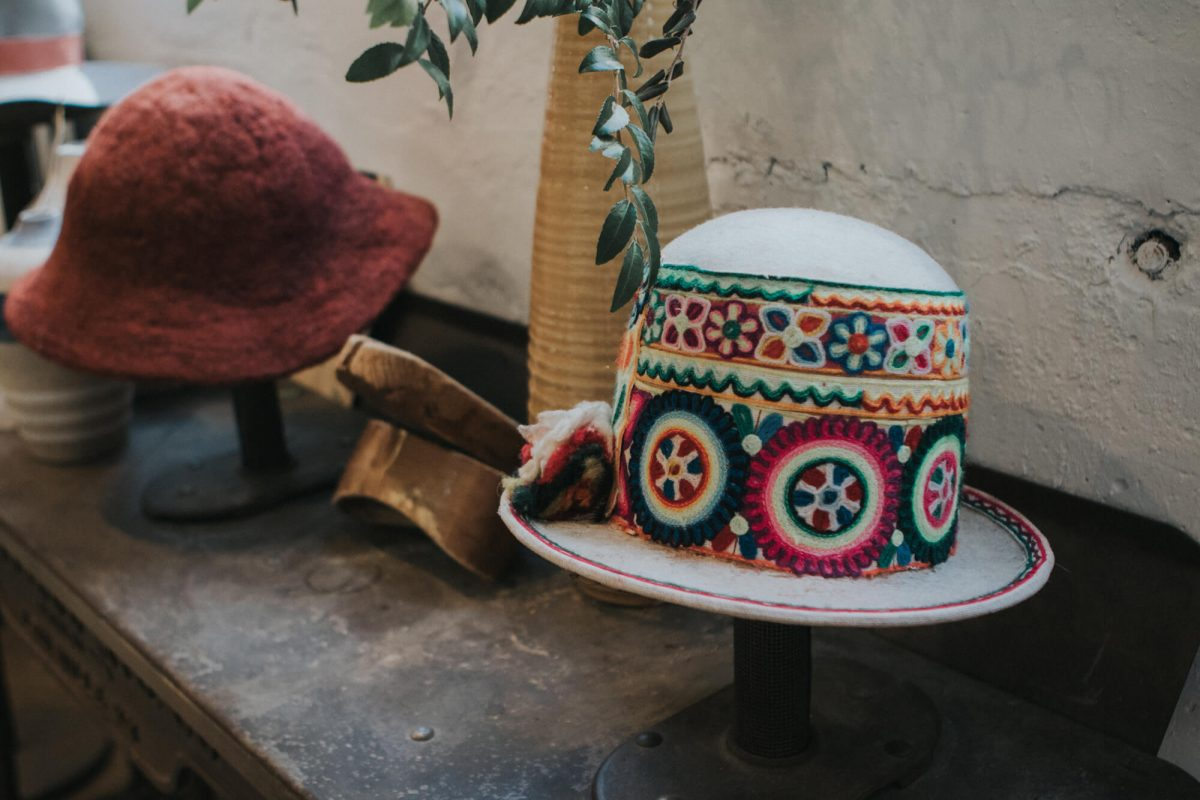 Shop Ladies and Gents Teressa Foglia Hats Colorful