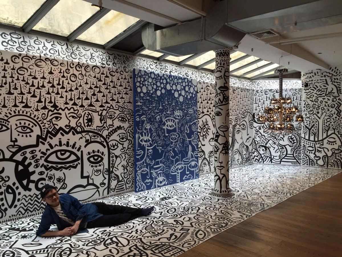 Curiosities Insider Interviews Justin Teodoro Installation