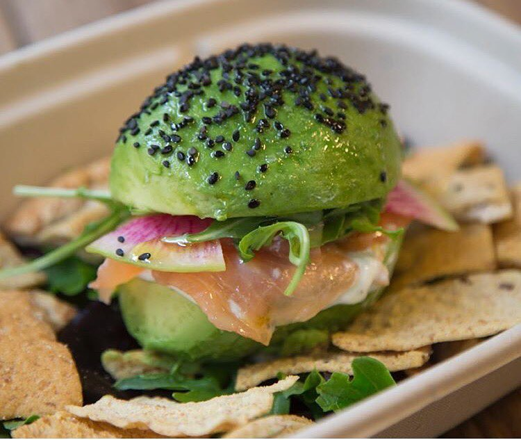 Curiosities Our Bucket Lists Industry City Avocaderia Avo Burger