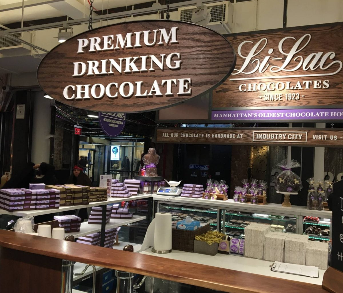 Curiosities Our Bucket Lists Industry City Lilac Chocolate