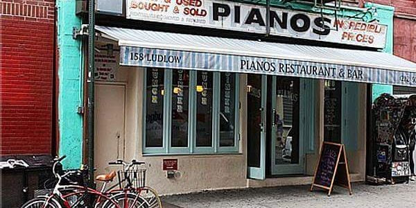 Nightlife Bars Pianos Manhattan Façade