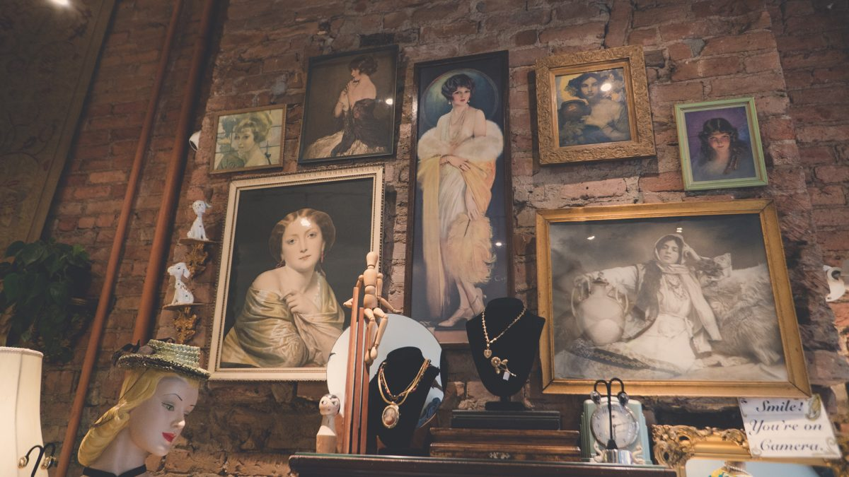 Shop Ladies and Gents Vintage Stores Pippin Vintage Paintings