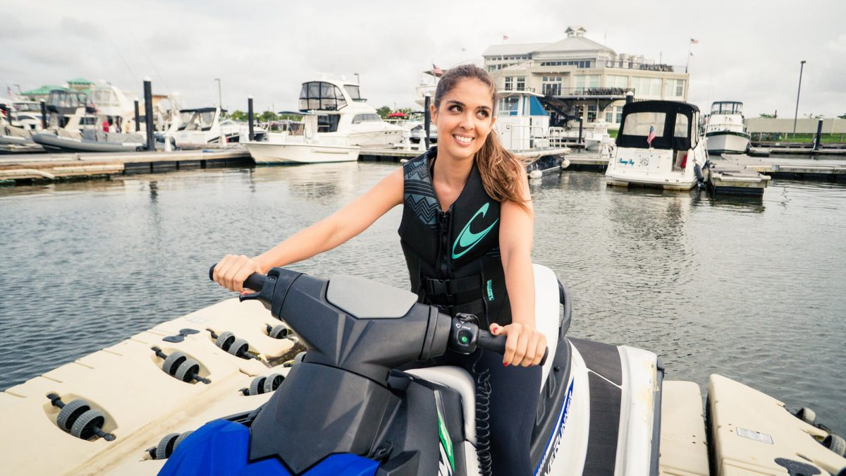 BTSNYC Experiences On Going Outdoor Activities Jet Ski Hudson River Fernanda Paronetto