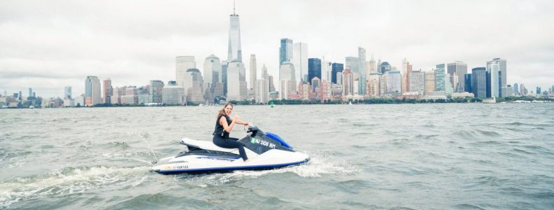 BTSNYC Experiences On Going Outdoor Activities Jet Ski Hudson River Skyline
