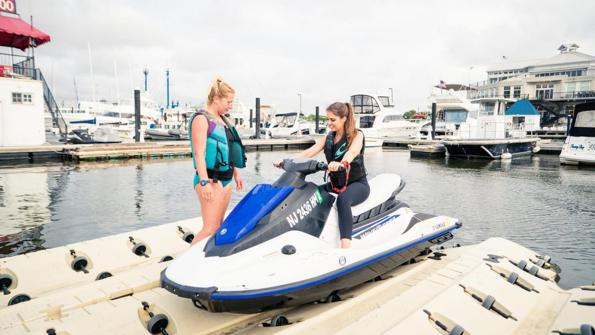 BTSNYC Experiences On Going Outdoor Activities Jet Ski Hudson River With Guide
