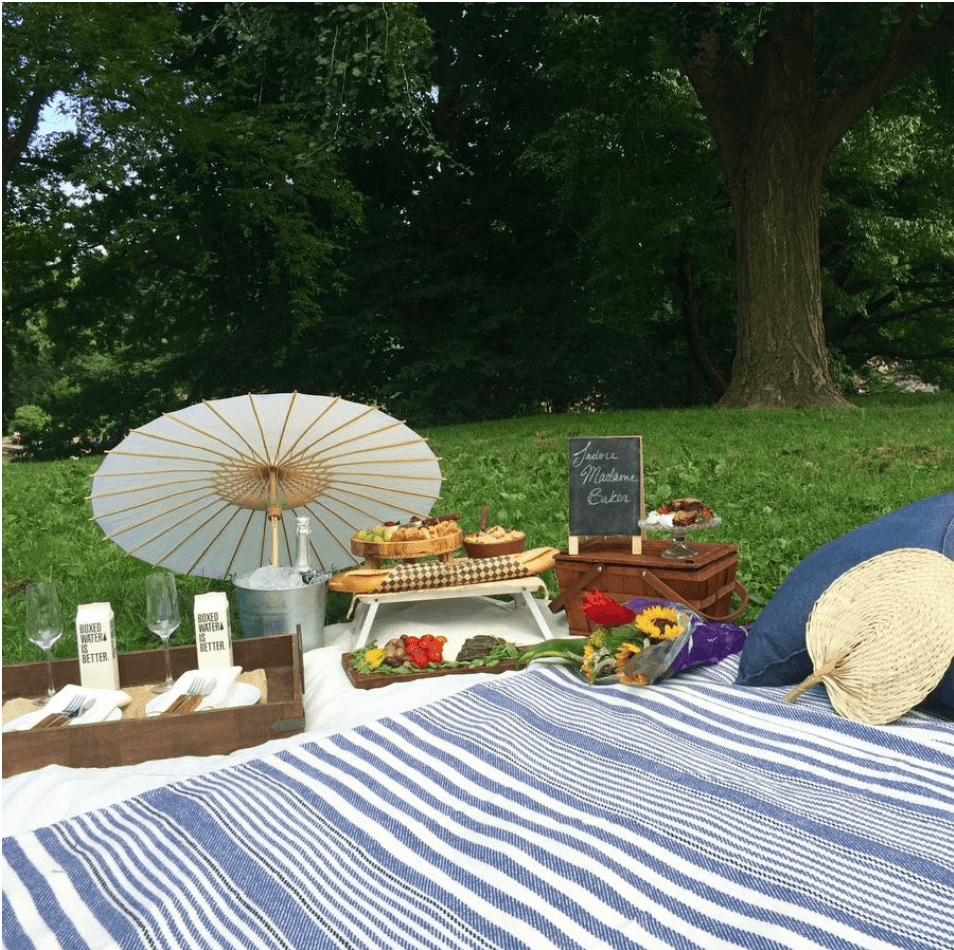 BTSNYC Experiences On Going Picnic Gold Picnic