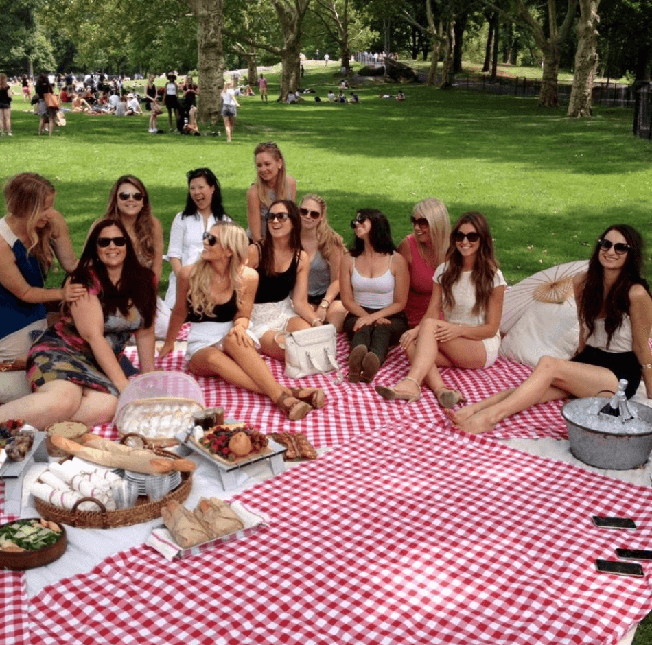 BTSNYC Experiences On Going Picnic Sheep Meadows Picnic Party