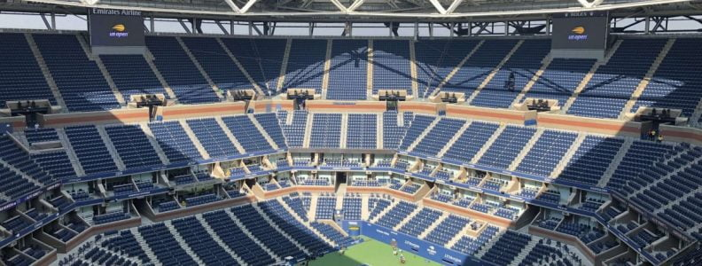 Curiosities City Secrets Siemens BTSNYC Tour Arthur Ashe Stadium Retractable Ceiling