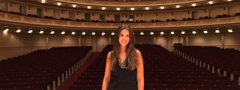 Curiosities City Secrets Siemens BTSNYC Tour Carnegie Hall Fernanda Paronetto
