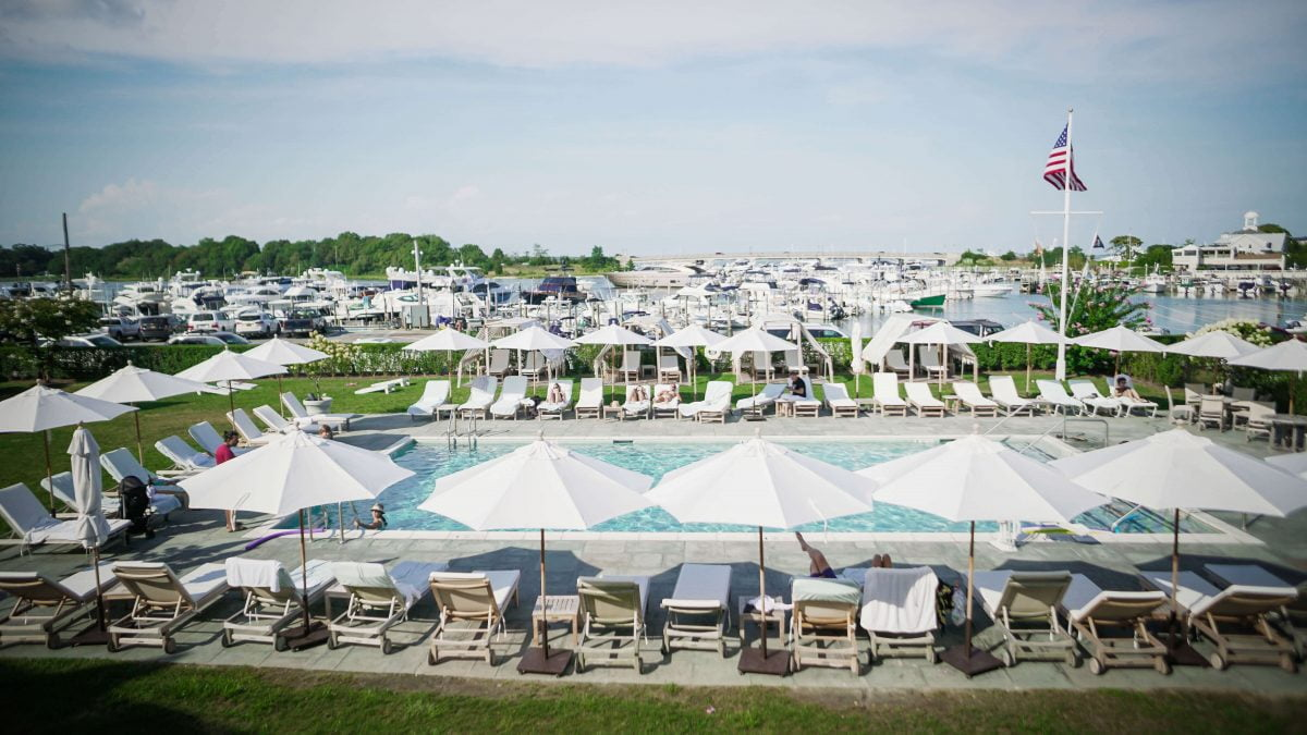 Day Trips and Travel Sag Harbor Barons Cove Hotel Pool