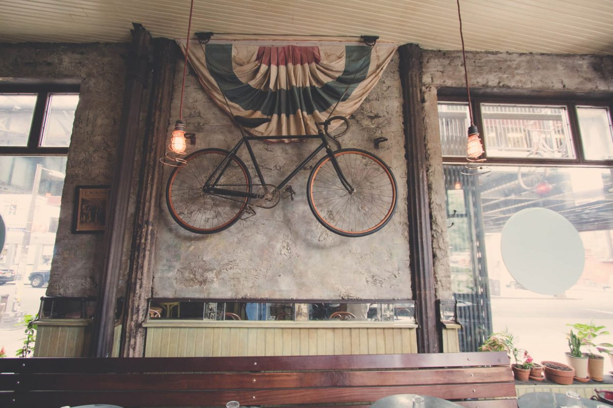 Dining Bar Velo Brooklyn Bike