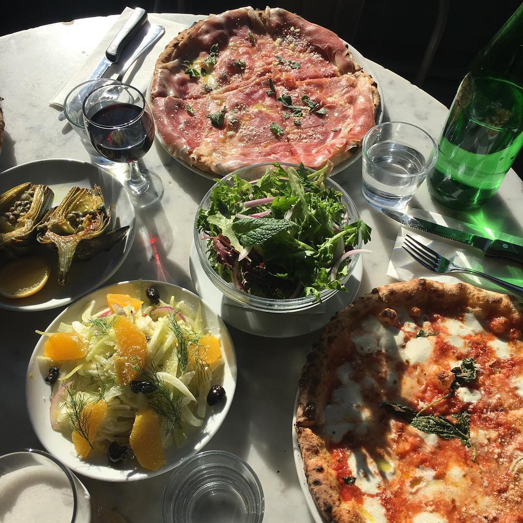 Dining Motorino Pizza And Salad