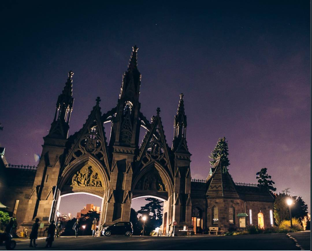 Events Up Coming NYC Halloween Parties 2018 Green Wood Cemetery