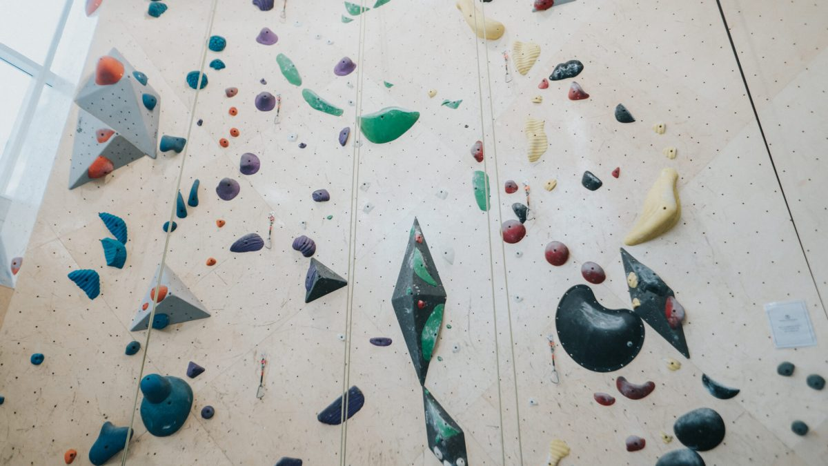 Fitness Health Brooklyn Boulders Steep Wall