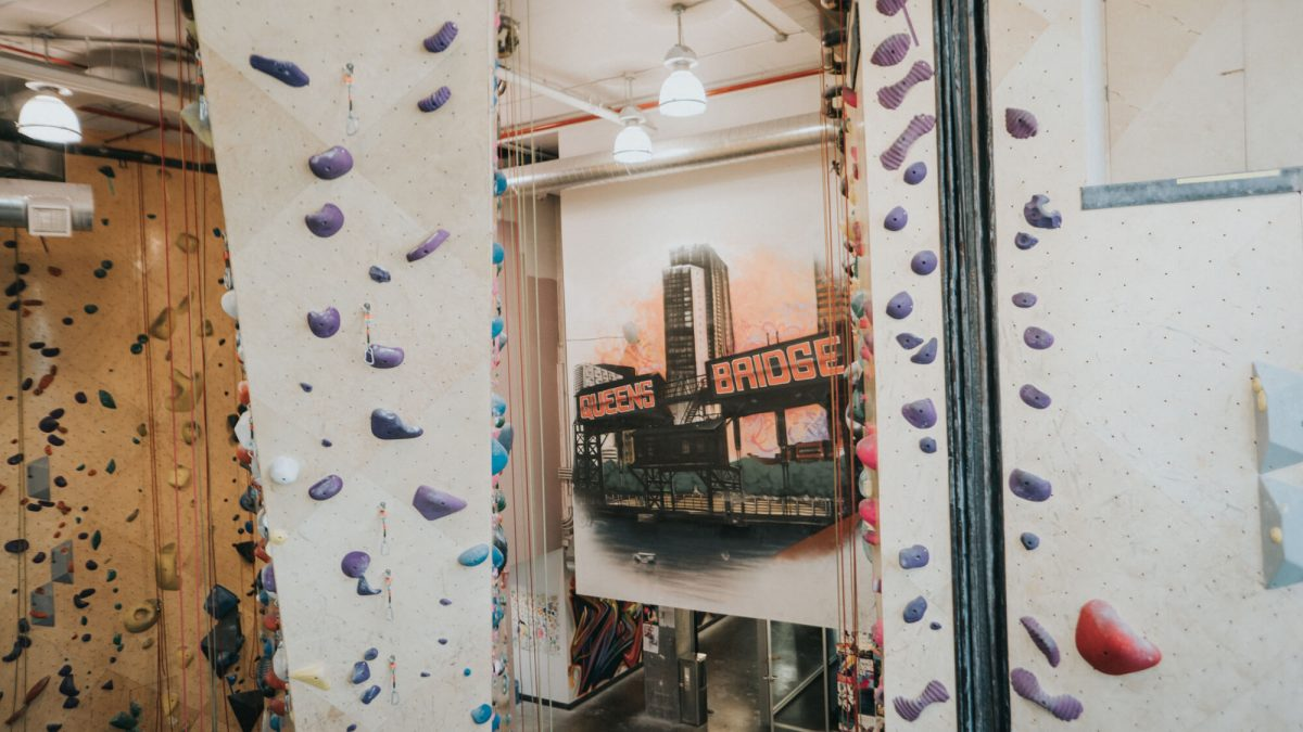 Fitness Health Brooklyn Boulders Walls