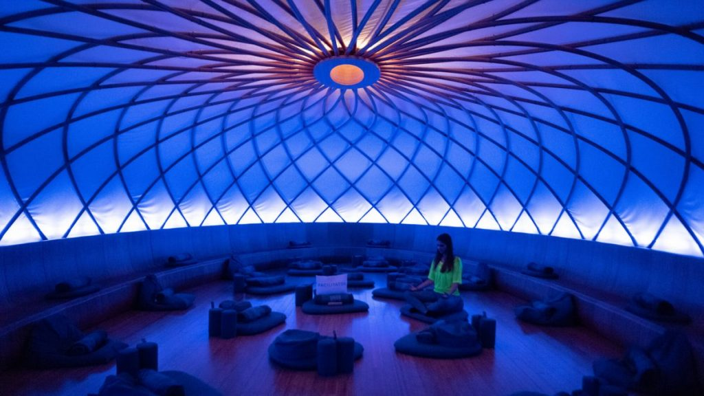 Fitness Health Inscape Dome Room