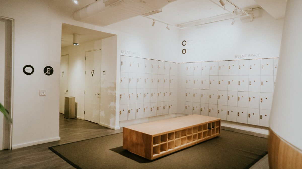 Fitness Health Inscape Lockers