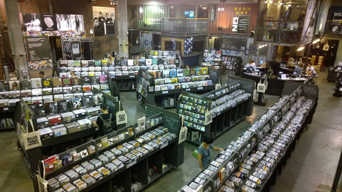 Shop Specialties Vinyl Record Stores NYC Rough Trade Brooklyn