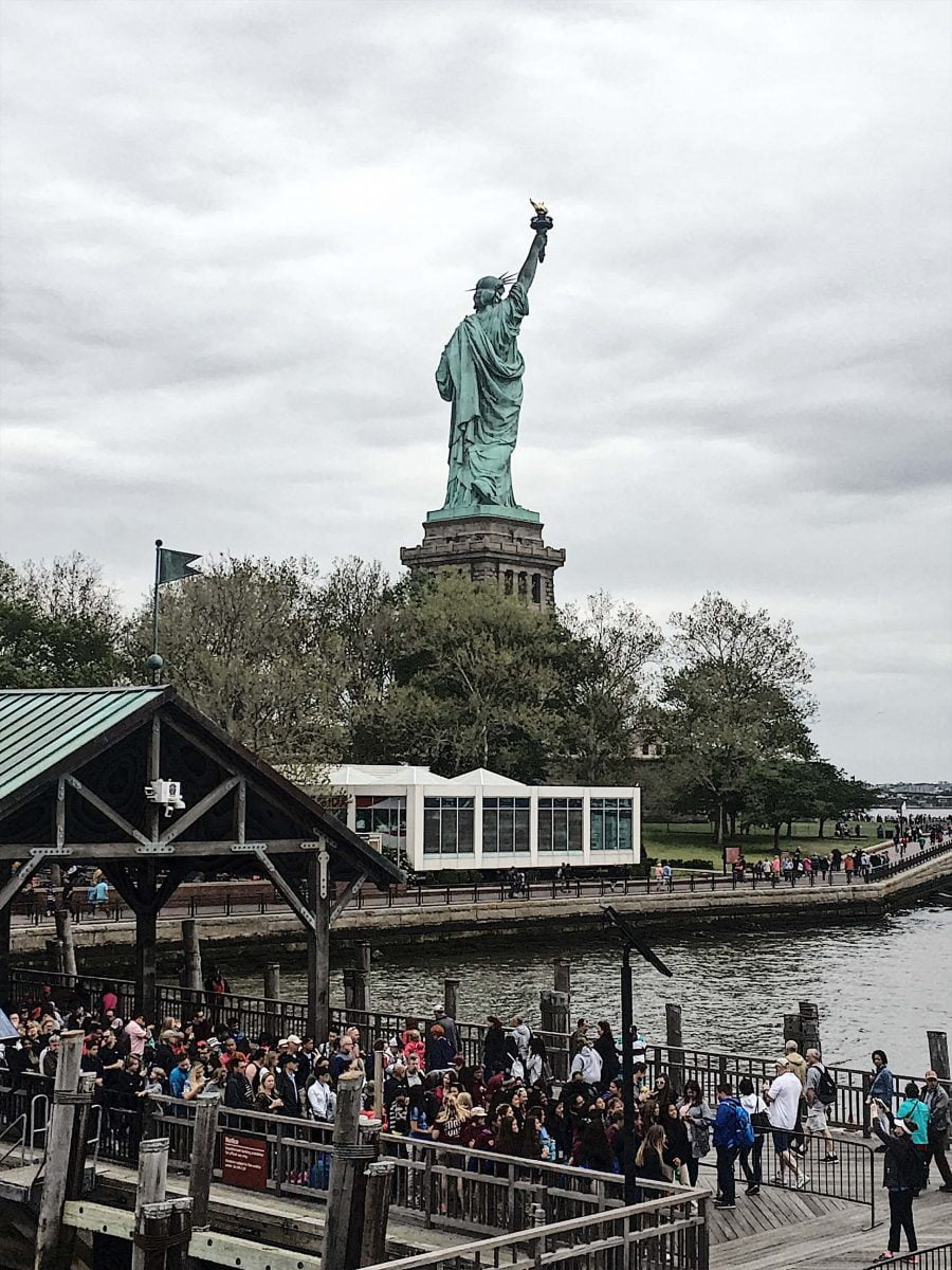 Curiosities Our Bucket Lists How To Enjoy NYC With Kids Outdoors Statue of Liberty
