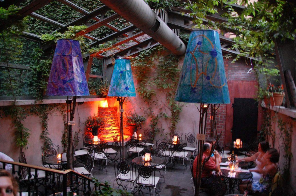 Dining La Lanterna di Vittorio Garden
