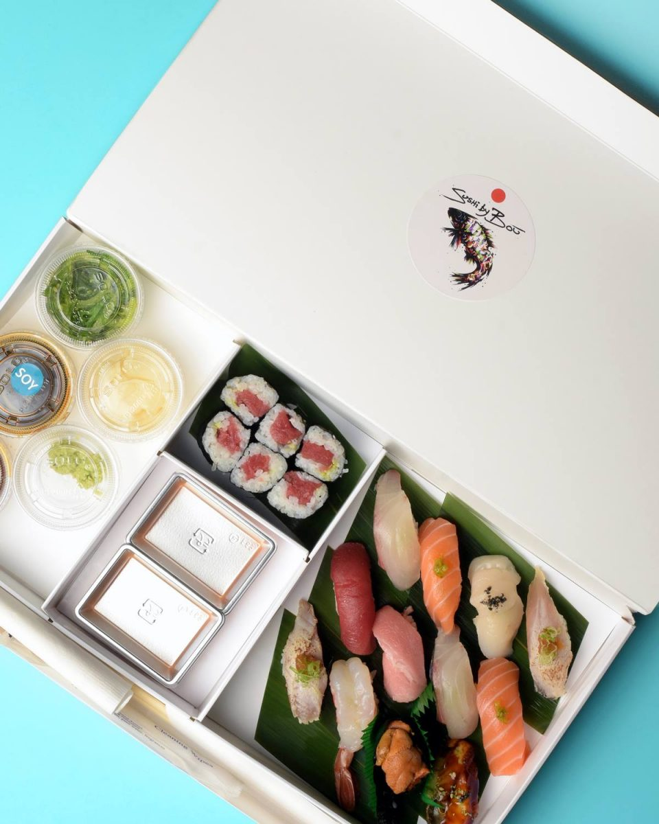 Dining Sushi by Bou Speakeasy Japanese Delivery