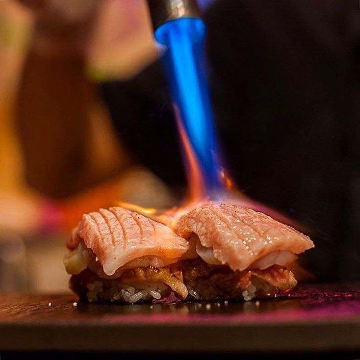 Dining Sushi by Bou Speakeasy Japanese Fire