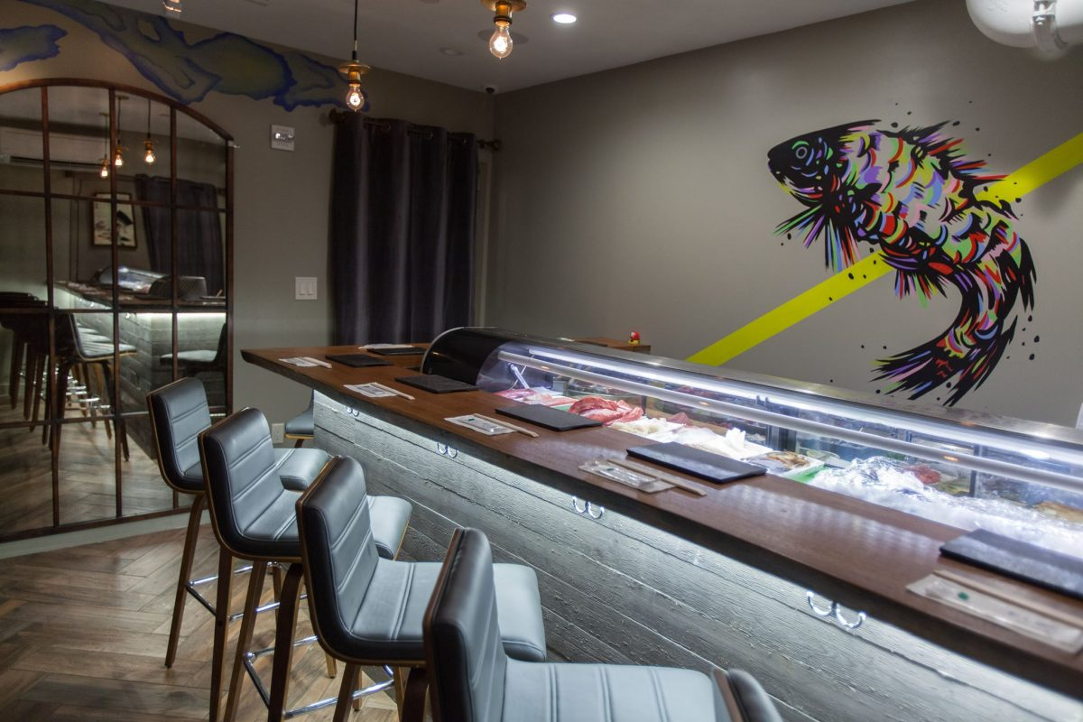 Dining Sushi by Bou Speakeasy Japanese Sanctuary Hotel