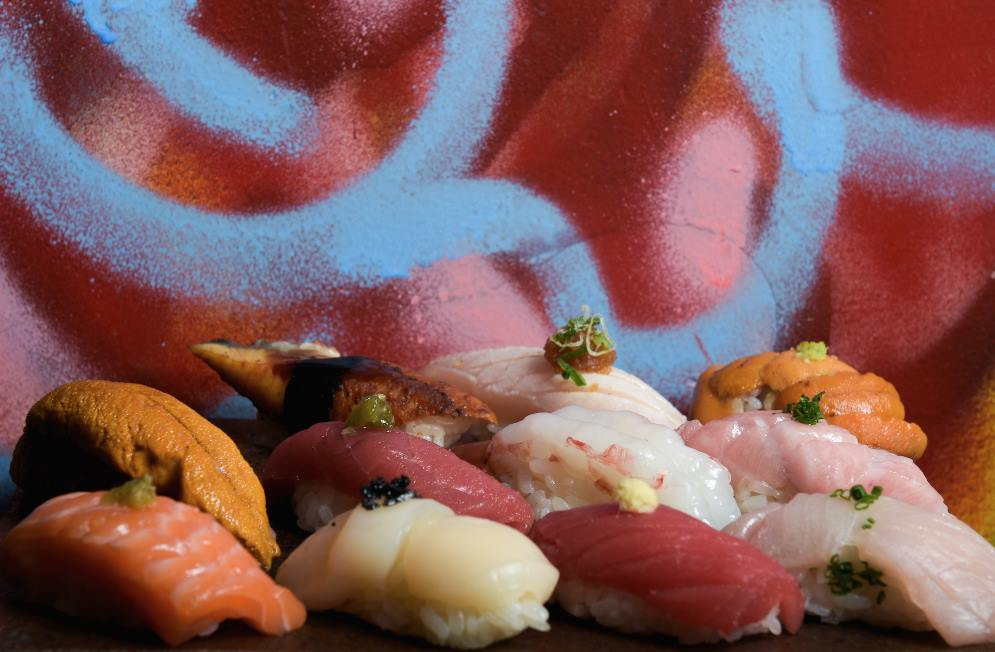 Dining Sushi by Bou Speakeasy Japanese Sushi Squad
