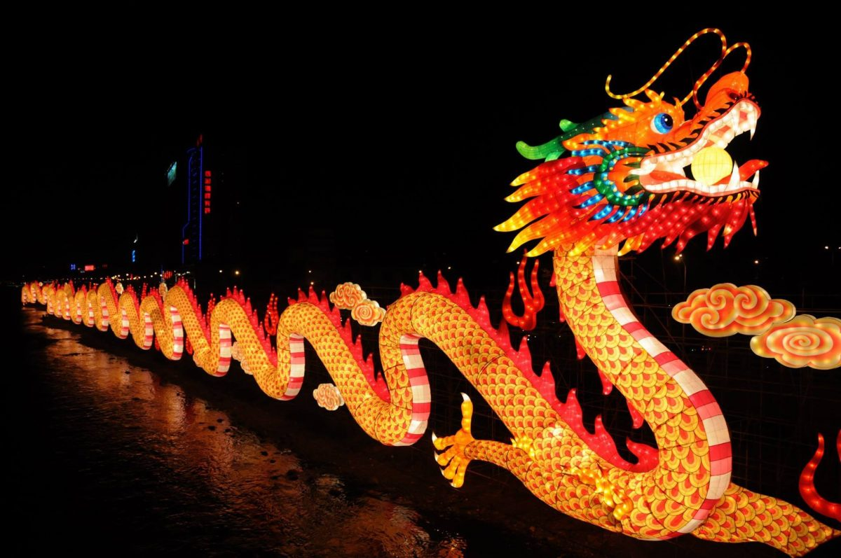Events Up Coming NYC 1st Winter Lantern Festival Dragon