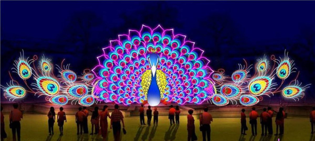 Events Up Coming NYC 1st Winter Lantern Festival Peacock