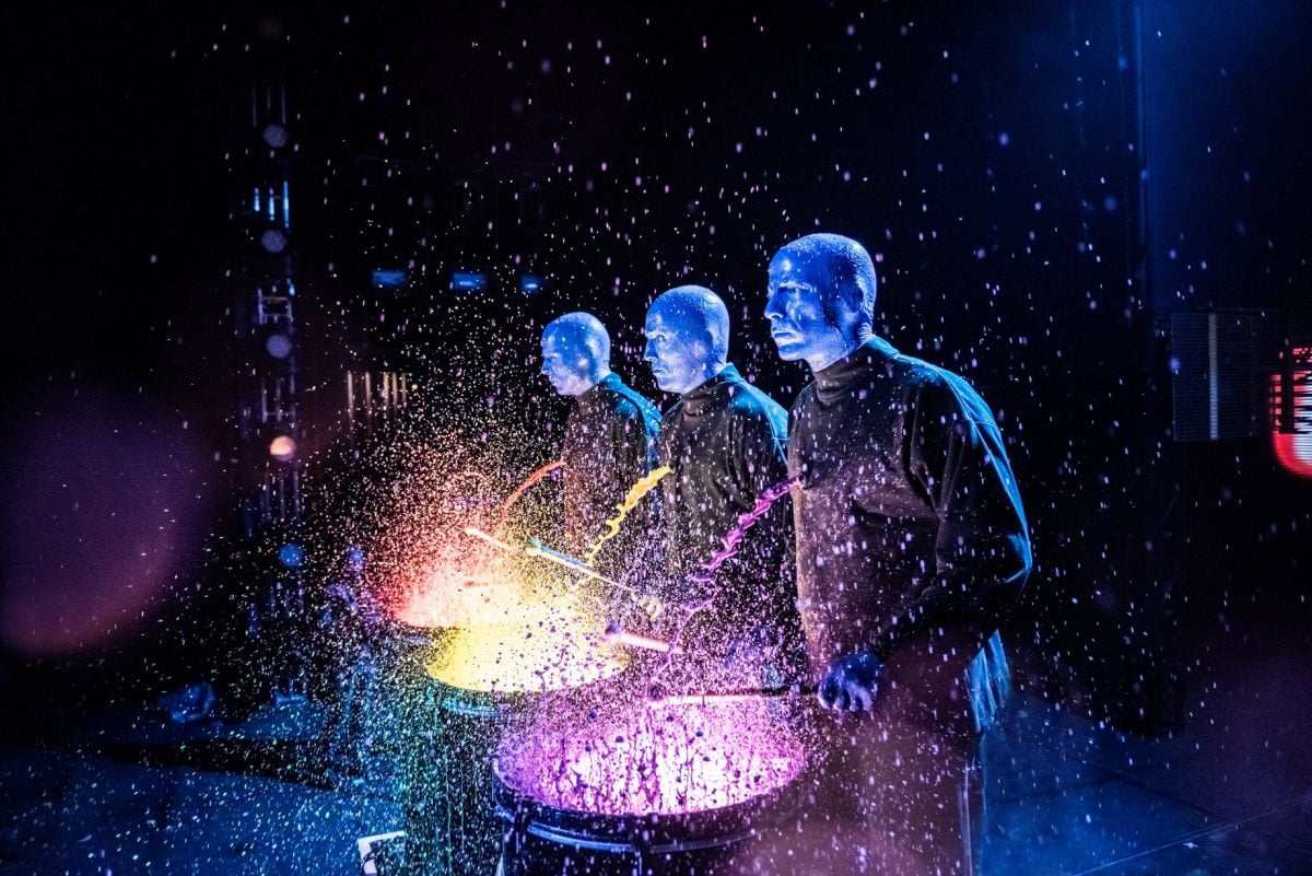 15 Best Parties in New York for New Years Eve 2019 Blue Man Group