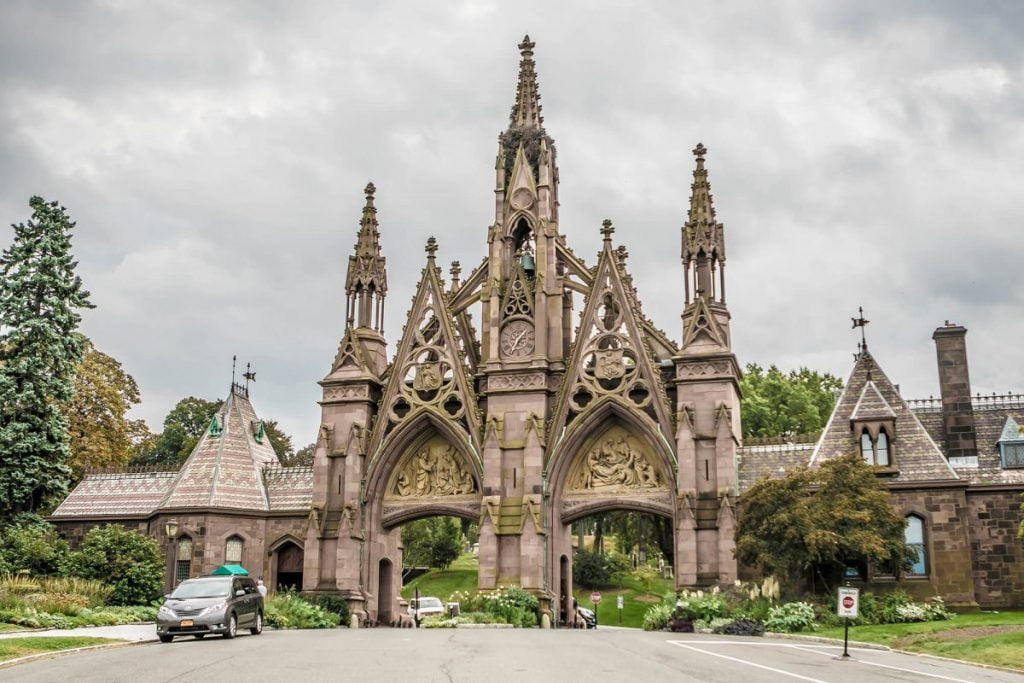 Curiosities City Secrets Famous People Buried in NYC Cemeteries Greenwood Brooklyn